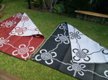 Reversible recycled Indigenous mats 2.7mx2.7m $125 each plus p&h